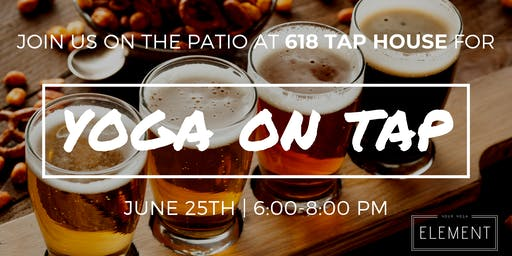 Yoga on Tap at 618 Tap House