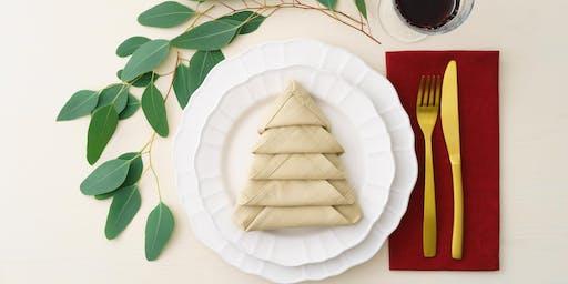 Easy Entertaining: Napkin Folding