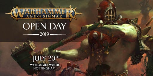 Warhammer Age of Sigmar Open Day 2019