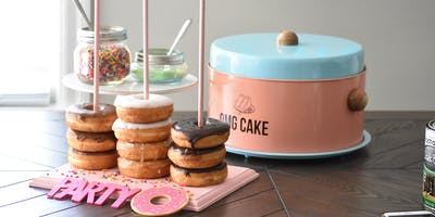 Easy Entertaining: Party Donut Stands