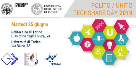 Italian Tech Week | TECHSHARE DAY 2019 @POLITO tickets