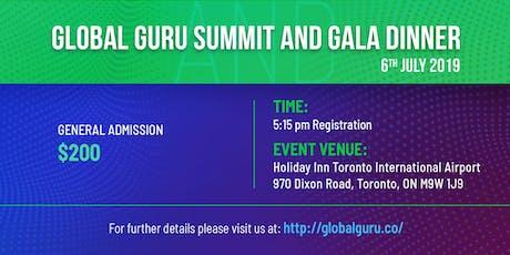 Global Guru Summit and Gala Dinner - 6th July 2019 tickets