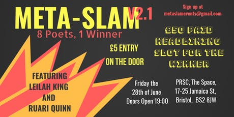 Meta-slam V2.1 Leilah King and Ruari Quinn tickets
