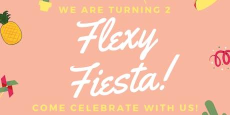 Flexy Fiesta: We're turing 2!  tickets