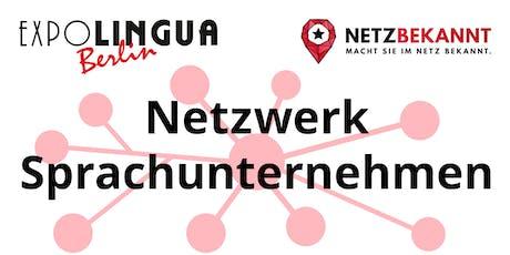 Sprachbusiness Netzwerk Auftaktveranstaltung Tickets