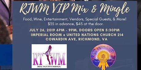 RTWM VIP Mix and Mingle  tickets
