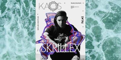 8.10 SKRILLEX @ KAOS DAYCLUB FREE SHOW! TEXT 303.437.9559 FOR GUESTLIST