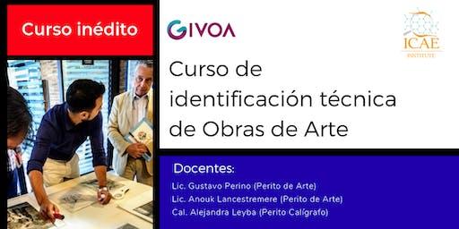 Curso de identificación técnica de obras de arte (COR)