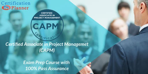 Certified Associate in Project Management (CAPM) Bootcamp in Pierre (2019)