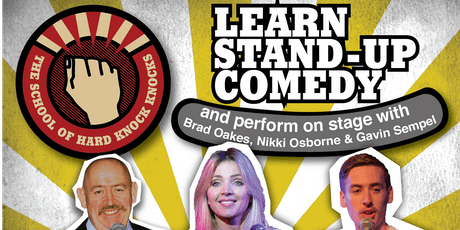 Melbourne: Learn Stand-up Comedy - Evenings: August 25 - 29, 2019 tickets