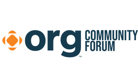 .ORG Community Forum tickets