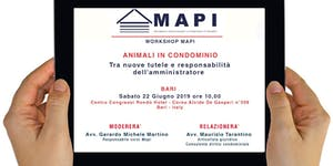 WORKSHOP PER AMMINISTRATORI DI CONDOMINIO - MAPI...