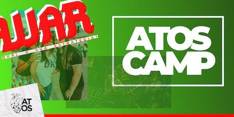 ATOS CAMP 2019 ingressos