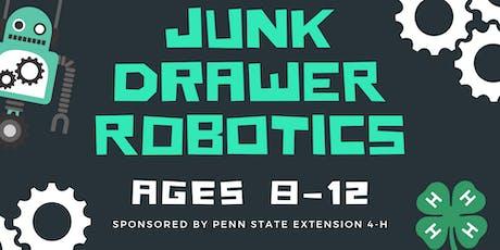Junk Drawer Robotics tickets