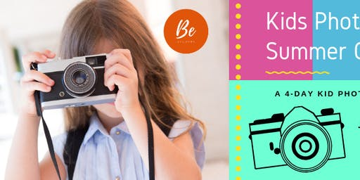 Kids Photography Summer Camp