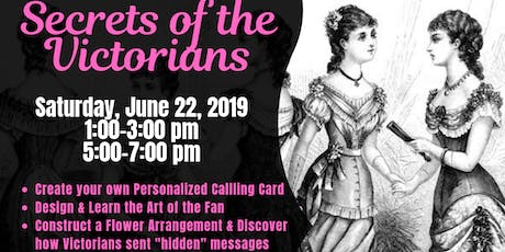 Secrets of the Victorians tickets
