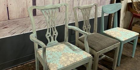 Vintage Chair Painting Workshop  tickets