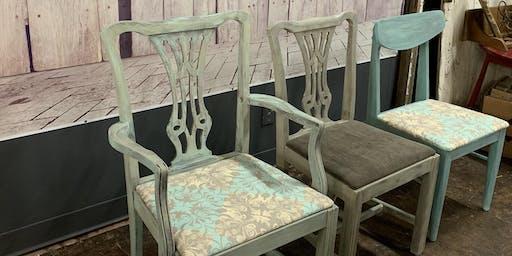 Vintage Chair Painting Workshop