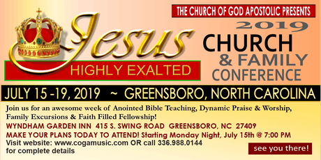 CHURCH AND FAMILY CONFERENCE tickets