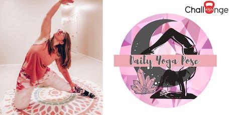 June Yoga Pose Challenge tickets