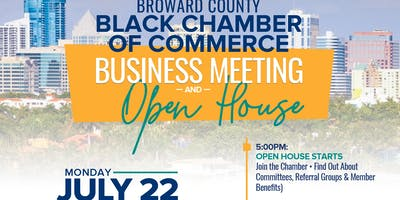 Business Meeting & Open House