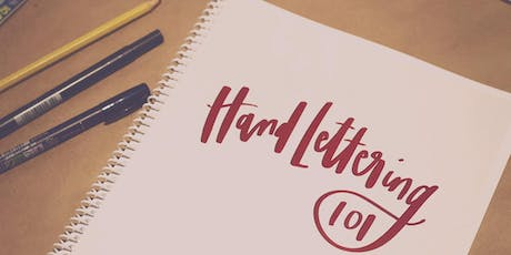 Hand Lettering 101 tickets