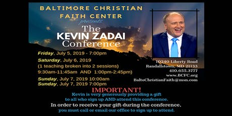 The Kevin Zadai Conference tickets