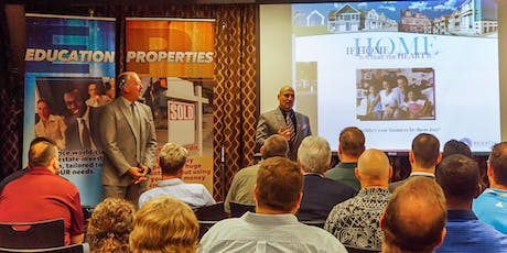 INVESTING IN REAL ESTATE - FREE- LIVE - ORIENTATION  SCOTTSDALE AZ  tickets