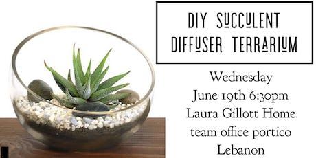 DIY Succulent Diffuser Terrarium tickets