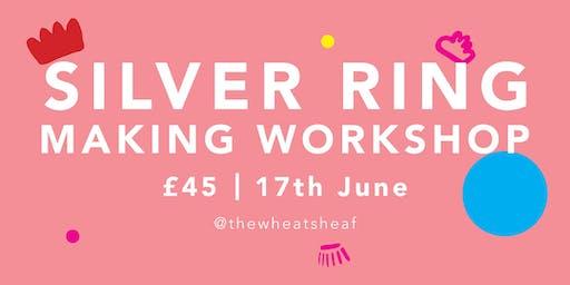 Beginners Silver Ring making workshop