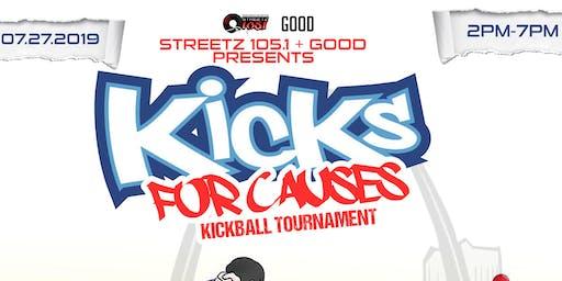 KICKS FOR CAUSES KICKBALL TOURNAMENT