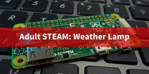Adult STEAM: Weather Lamp