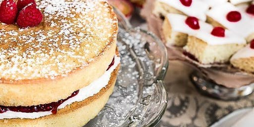 Tina's Traditional Great British Cooking Experience - July 2019 - Victoria Sandwich Cake