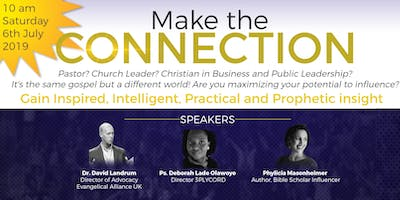 MAKE THE CONNECTION (with Dr Dave Landrum -Evangelical Alliance)