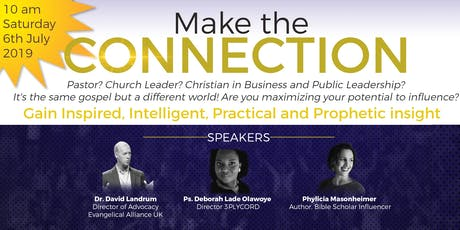 MAKE THE CONNECTION (with Dr Dave Landrum -Evangelical Alliance) tickets