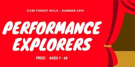 Performance Explorers tickets
