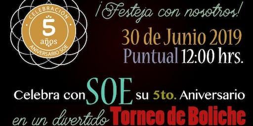 Festejo 5° Aniversario de SOE Eventos y Viajes