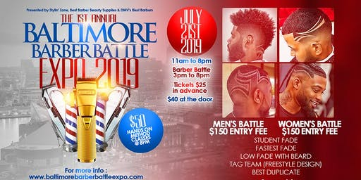 Baltimore Barber Battle Expo