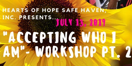 Accepting Who I Am - Workshop PT. 2 tickets