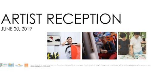 Artist Reception - Zhang Hong Mei, Xu De Qui, Yifei Zhou
