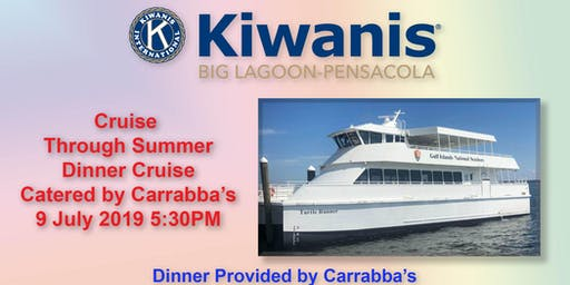 Cruise Into Summer Dinner Cruise