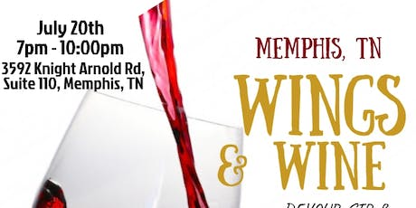 Wings & Wine Memphis - Unlimited Food, Wine Tasting, & Free Open Bar tickets