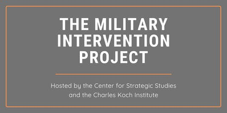 A Discussion on the Military Intervention Project tickets