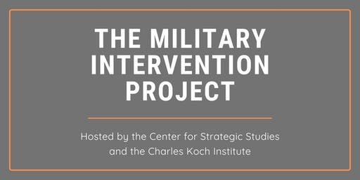 A Discussion on the Military Intervention Project