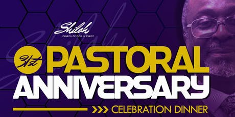 31st Pastoral Anniversary Celebration tickets