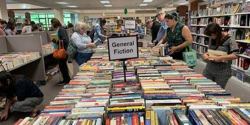 Huge Fall Book Sale at George Mason Regional Library