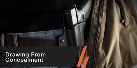 Drawing From Concealment tickets