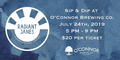 Sip & Dip at O'connor Brewing Co.