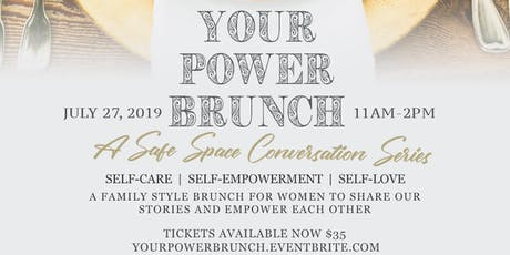 Your Power: A Safe Space Conversation Series tickets