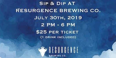 Sip & Dip Dye @ResurgenceBrewingCo